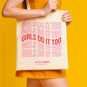 Girls Do It Too Tote