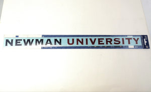 Long Potter Decal Newman University