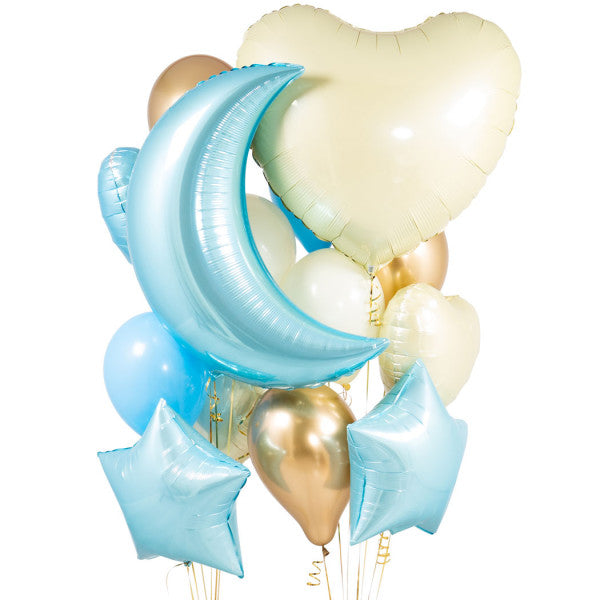 Baby Blue Balloon Bouquet