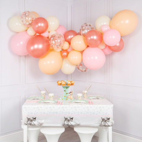 Rose Gold Blush Balloon Cloud