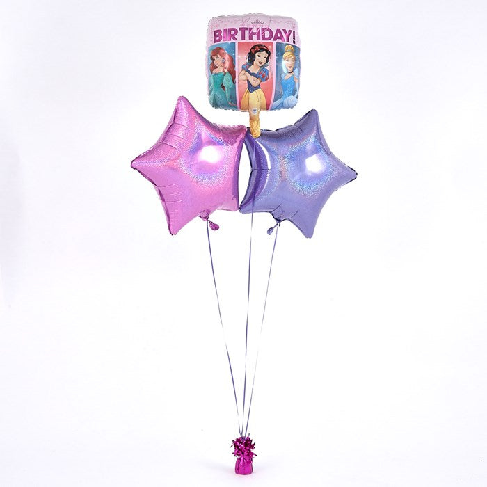 Disney Princess Pink Balloon Bouquet