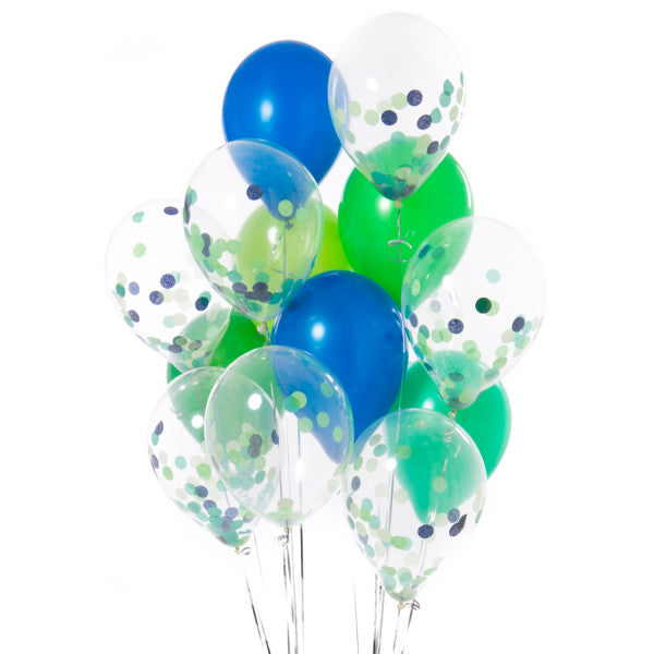 14 Dinosaur Party Confetti Balloons