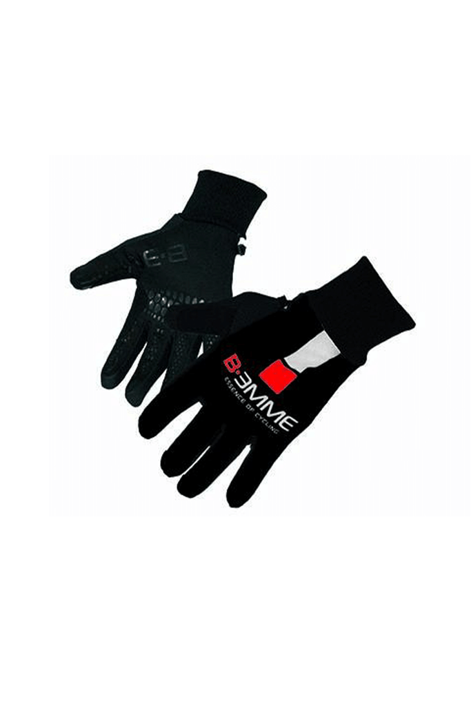 Winter gloves Black/White