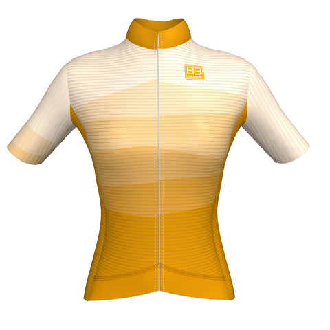 Sanremo short sleeve jersey - Yellow