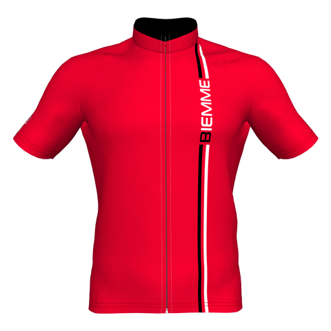 Blade Short Sleeve Jersey - Red/Black/White