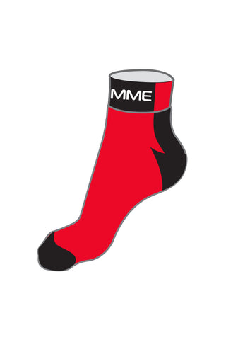 Coolmax Socks Red