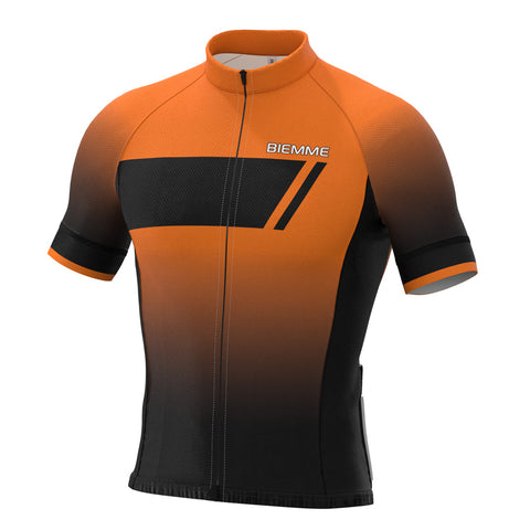 Etna short sleeve jersey - Orange Race Fit