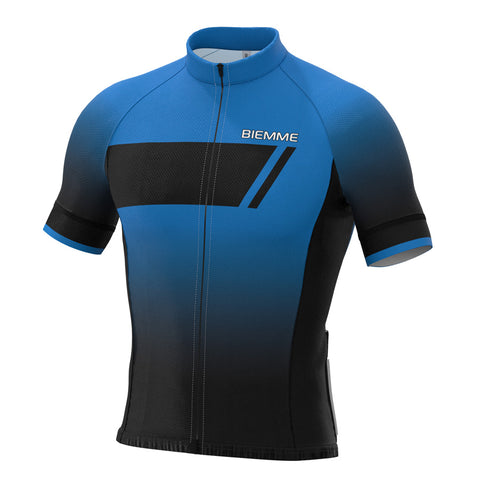 Etna short sleeve jersey - Blue Race Fit