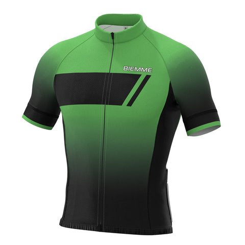 Etna short sleeve jersey - Green Race Fit