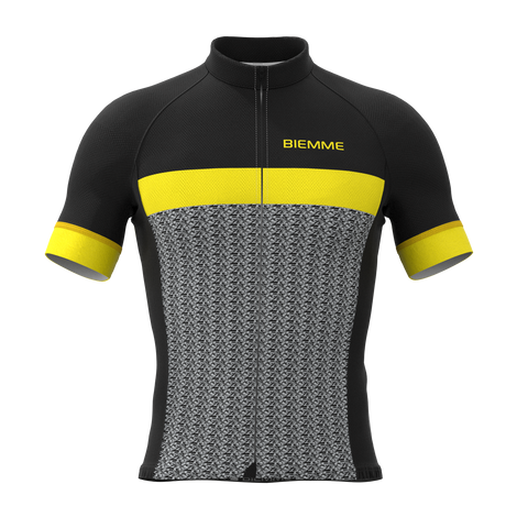 Mortirolo short sleeve jersey - Yellow