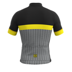 Mortirolo short sleeve jersey - Yellow Race Fit