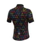 Poggio short sleeve jersey - Black Drop Fit