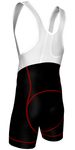 Flex Bib Shorts - Black/Red