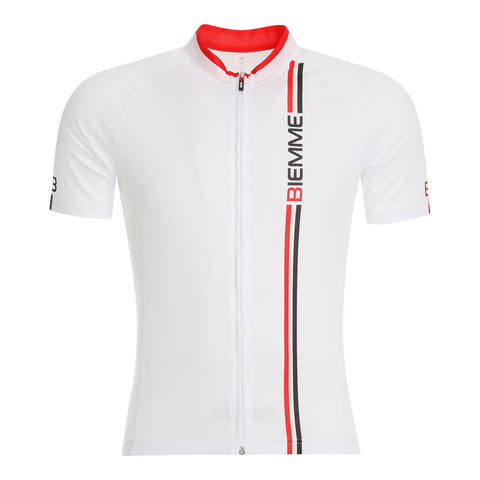 Blade short sleeve jersey - White/Red/Black