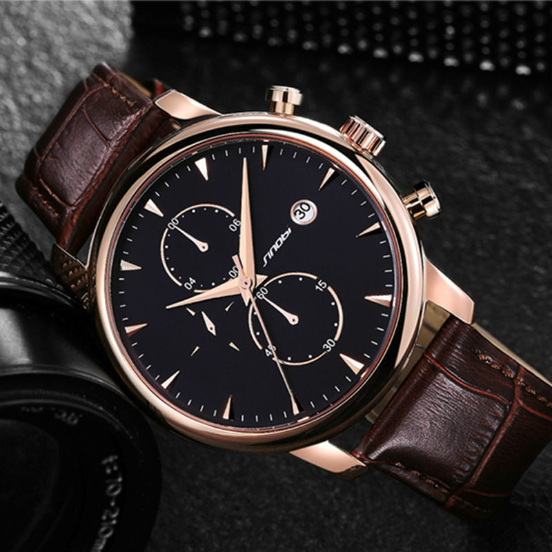 Luxury Leather Watches for Men
