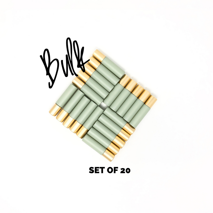 Slightly Damaged | Bulk Rollers | Set of 20