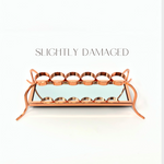 Slightly Damaged Rose Gold Roller Bottle Holder