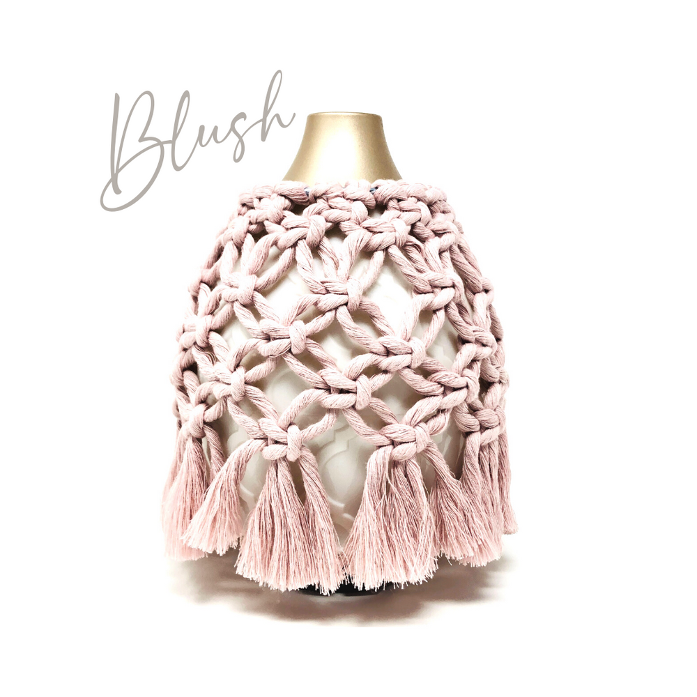 Load image into Gallery viewer, Macramé Diffuser Cover | Desert Mist