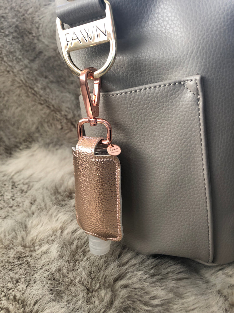 Rose Gold Sanitizer Holder