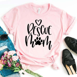 Paw Rescue Mom T-Shirt