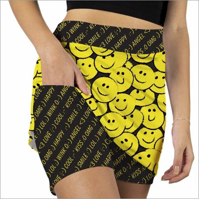 I'M SO HAPPY - Fashion Skort