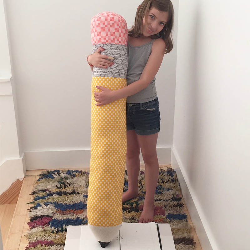 Sew a Softie - Giant Pencil Pillow