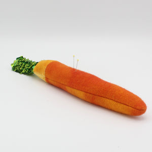 Carrot Pincushion