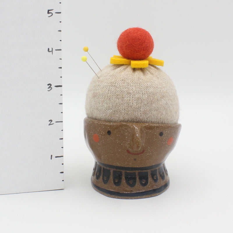 Head Pincushion/Sewing Muse
