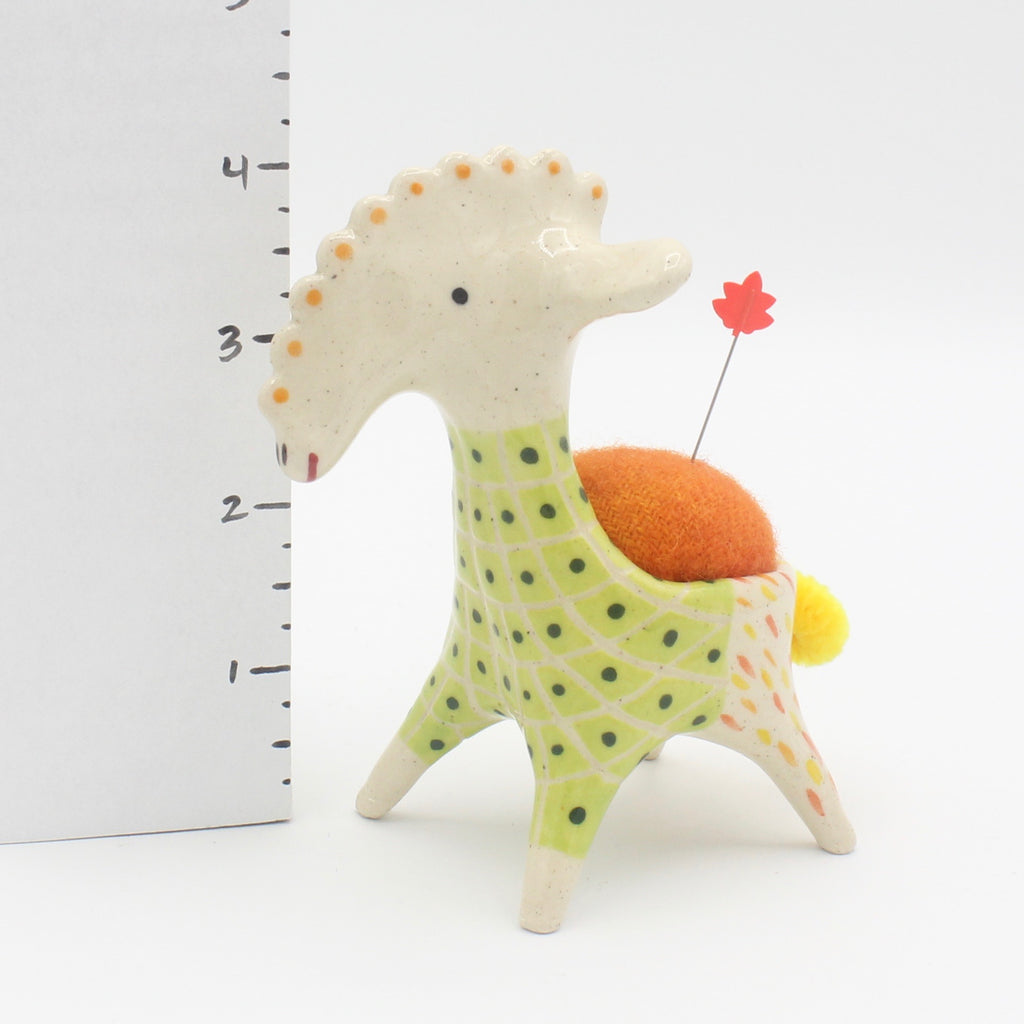 Sidekick Pincushion with Sweater