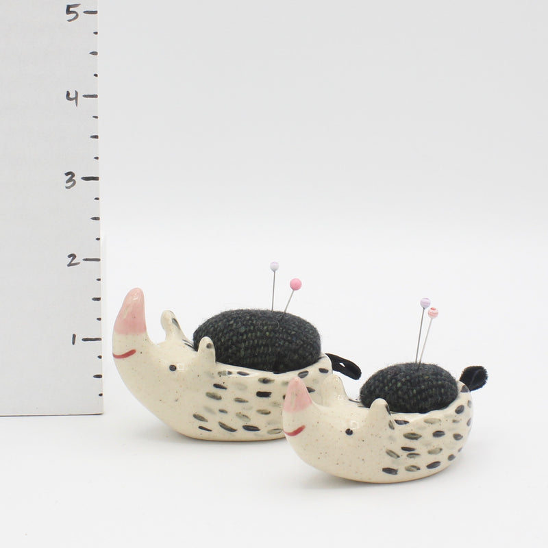 Matching Set of Sidekick Pincushion and Mini Sidekick Pincushion