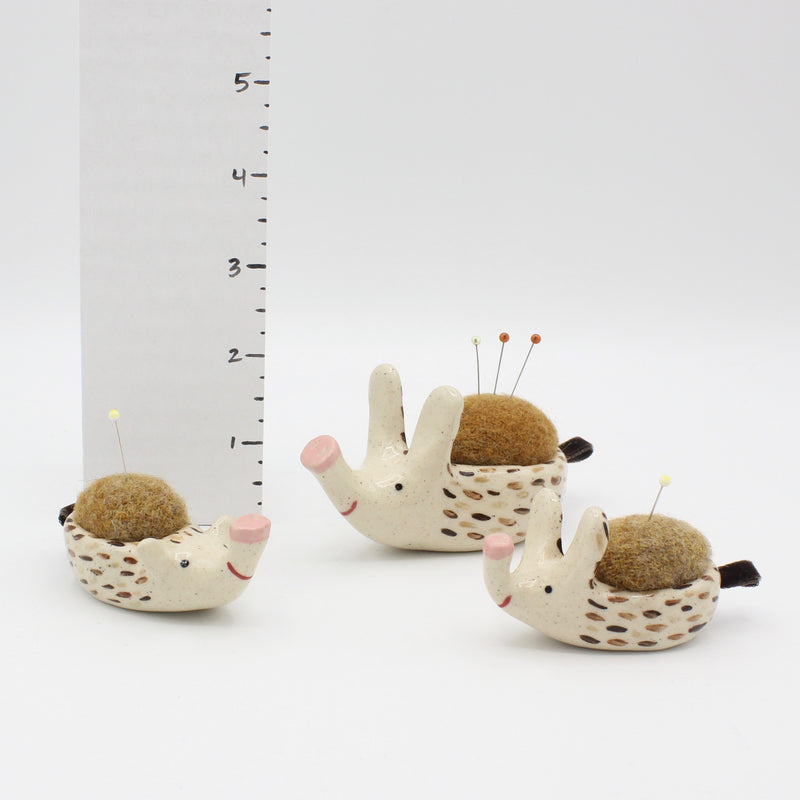 Matching Set of Sidekick Pincushion and 2 Mini Sidekick Pincushions