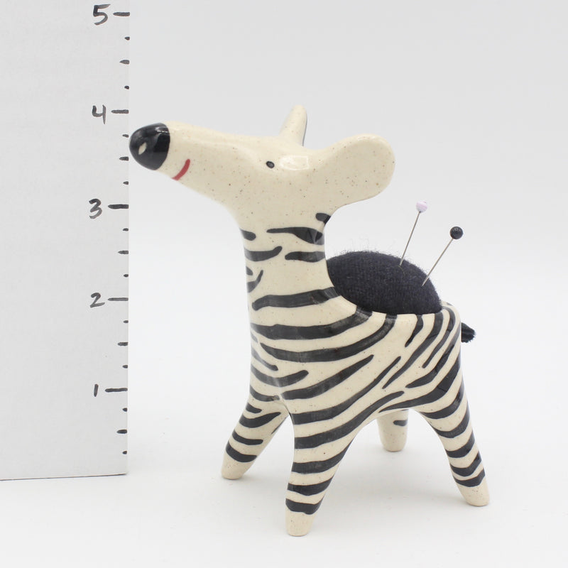 Zebra Sidekick Pincushion