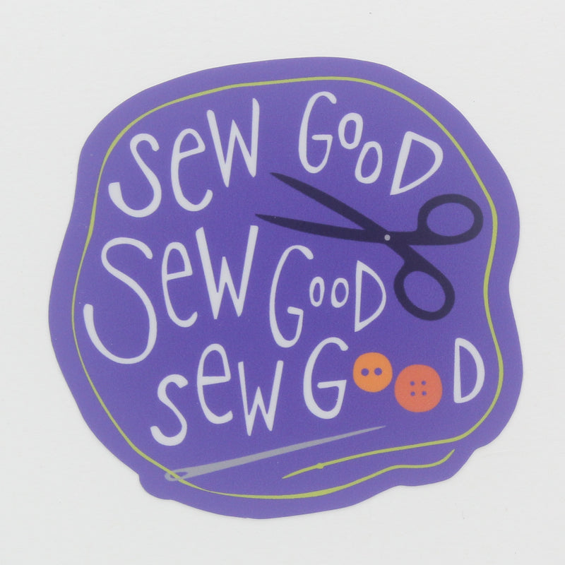 Sticker-Sew Good, Sew Good, Sew Good