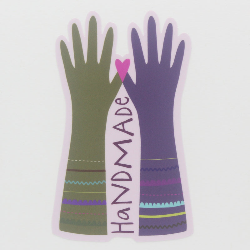 Sticker-Handmade Hands