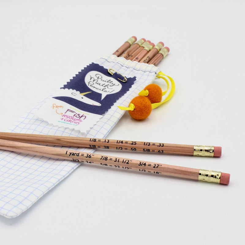 Quilty Math Pencils