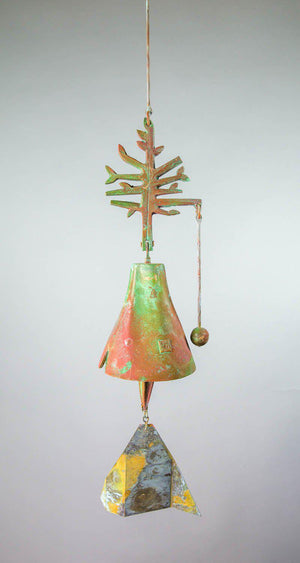 #185PT - Plant a Tree Bronze Windbell