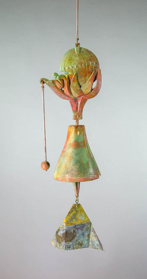 #190EB - Earth Bell Bronze Windbell