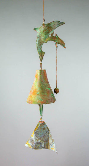 #193DB - The Dolphin Bronze Windbell
