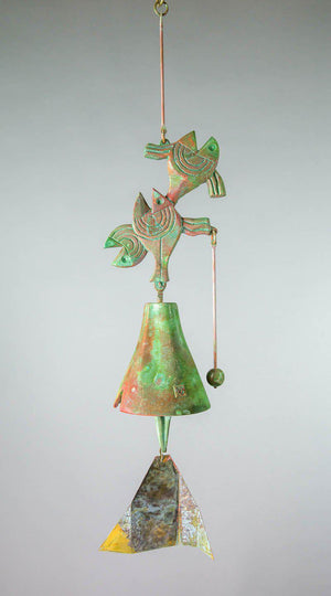 #203LA - Lean Alternative Bronze Windbell