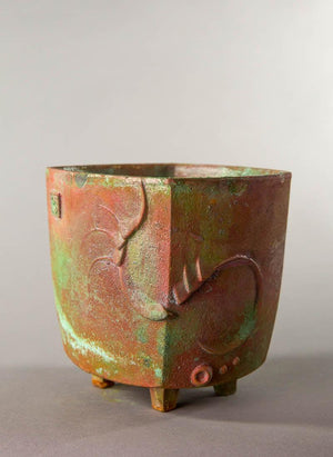 #117BP Cosanti Bronze Pot