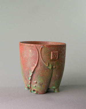 #123BP Cosanti Bronze Pot