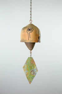 #706 - Cosanti Ceramic Windbell