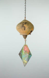 #707 - Cosanti Ceramic Windbell