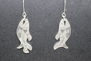 Silver Earrings 08-W