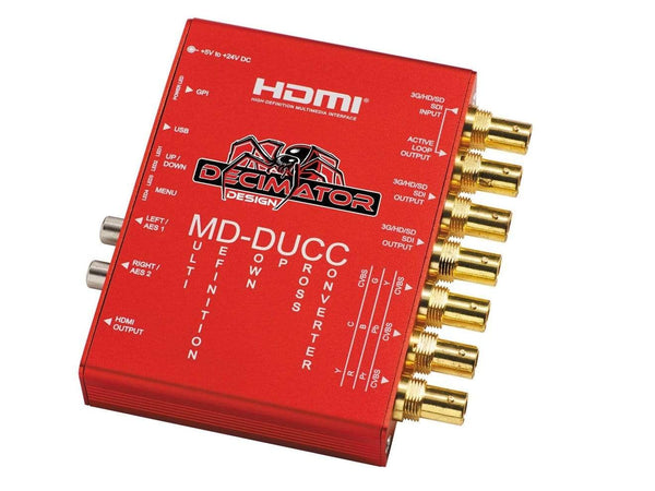 Mini convertor multi-definition Decimator MD-DUCC