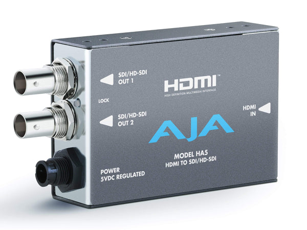 Mini convertor HDMI la SD/HD-SDI AJA HA5