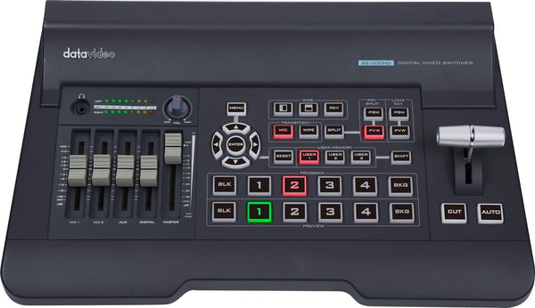 Switcher HD/SD cu 4 canale DataVideo SE-500HD