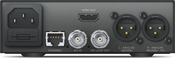 Blackmagic Teranex Mini - SDI la HDMI 12G