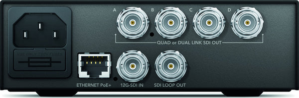 Blackmagic Teranex Mini - 12G-SDI la QUAD SDI