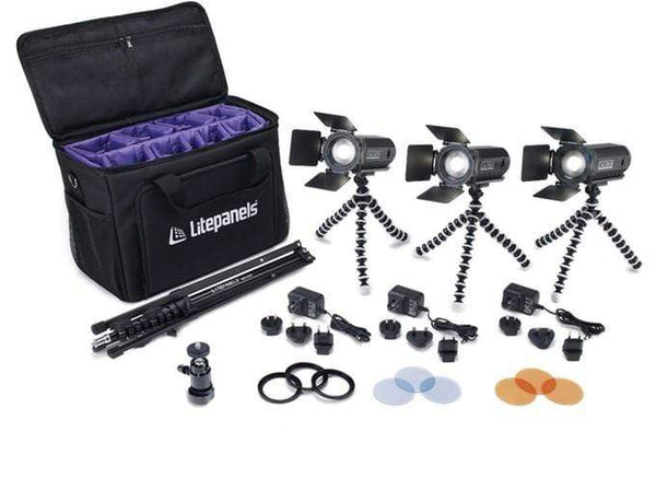 Litepanels Caliber LED 3-Light Kit